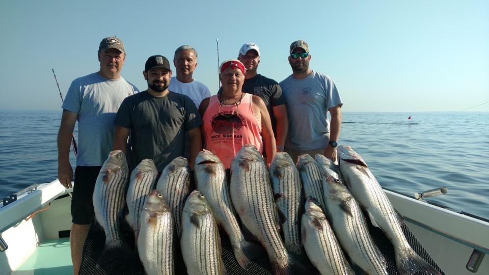Chesapeake Bay Rockfish Charter